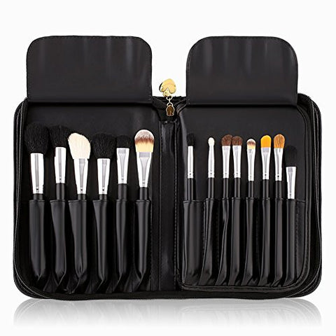 Amzdeal 29 Pieces Makeup Brush Set (Black) for $0.54 at THOKO PLACE