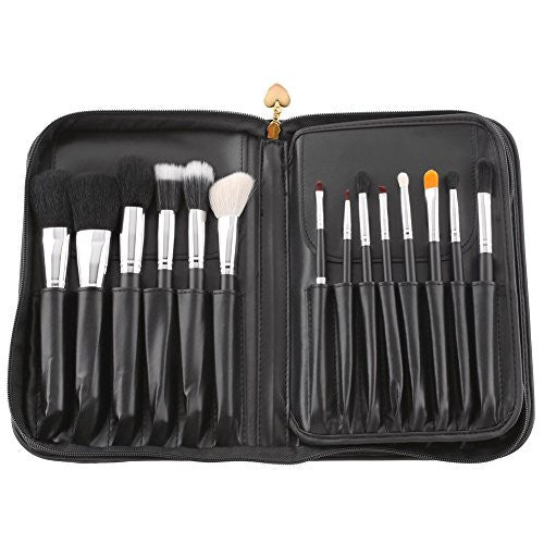 Amzdeal 29 Pieces Makeup Brush Set (Black) for $0.55 at THOKO PLACE