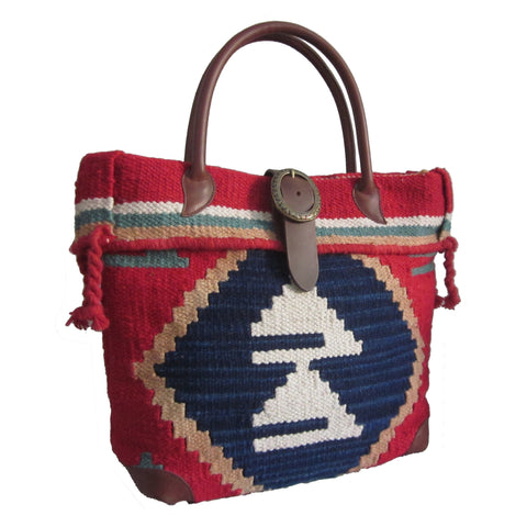 Amerileather Borka Geometric Print Handbag for $1.69 at THOKO PLACE