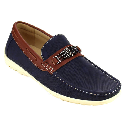 Arider Men's Moc Toe Loafers for $0.49 at THOKO PLACE