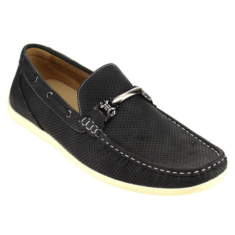 Arider Men's Perforated Loafers for $0.49 at THOKO PLACE