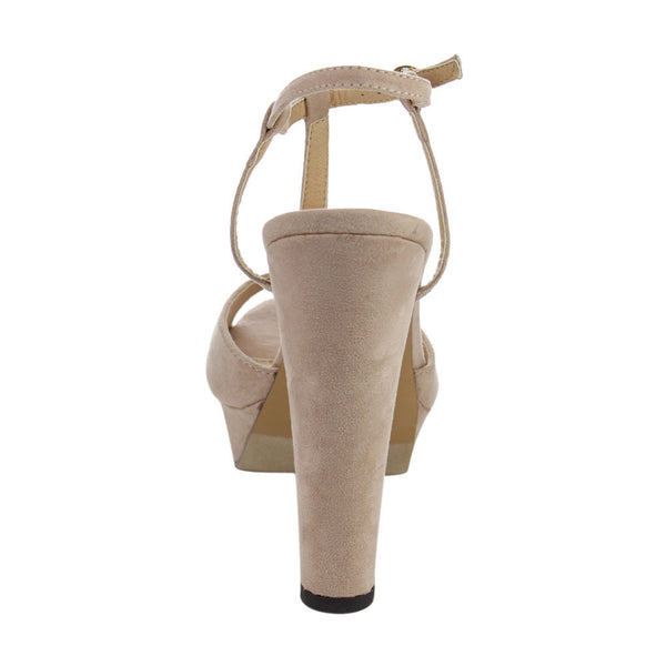 Beston Peep Toe Sandals for $0.55 at THOKO PLACE