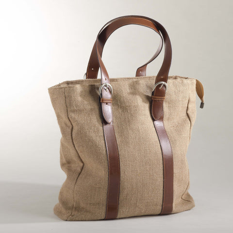 Burlap Tote Bag for $0.70 at THOKO PLACE