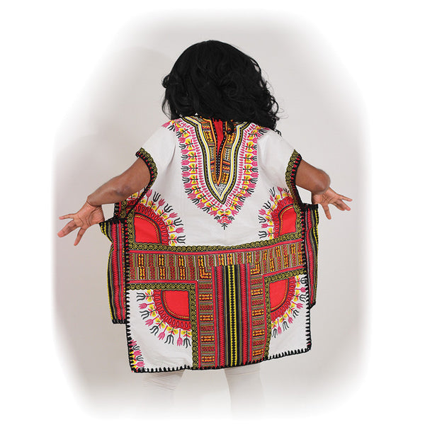 Traditional Drummer Poncho