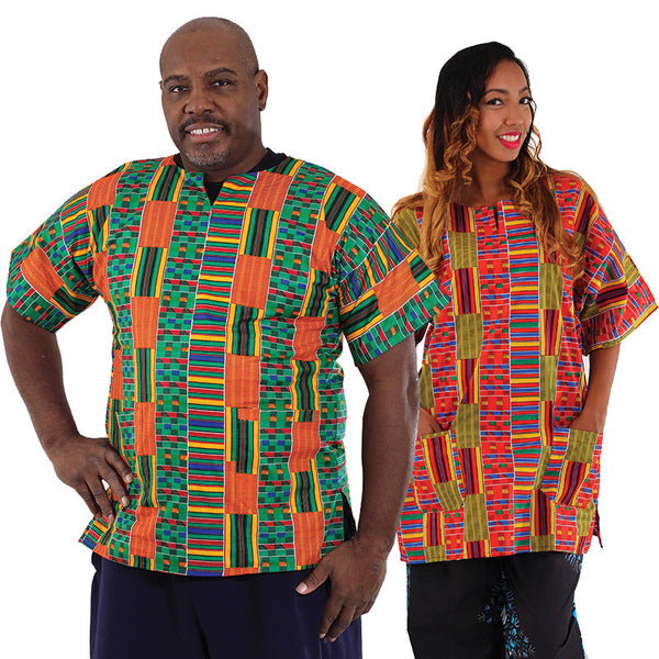 Kente Dashiki For Him & Her for $0.24 at THOKO PLACE