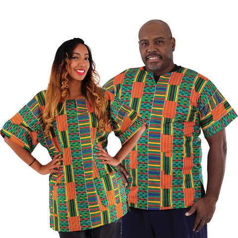 Kente Dashiki For Him & Her for $0.25 at THOKO PLACE