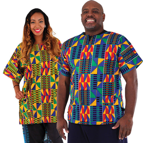 Kente Dashiki (For Him & Her) for $0.25 at THOKO PLACE