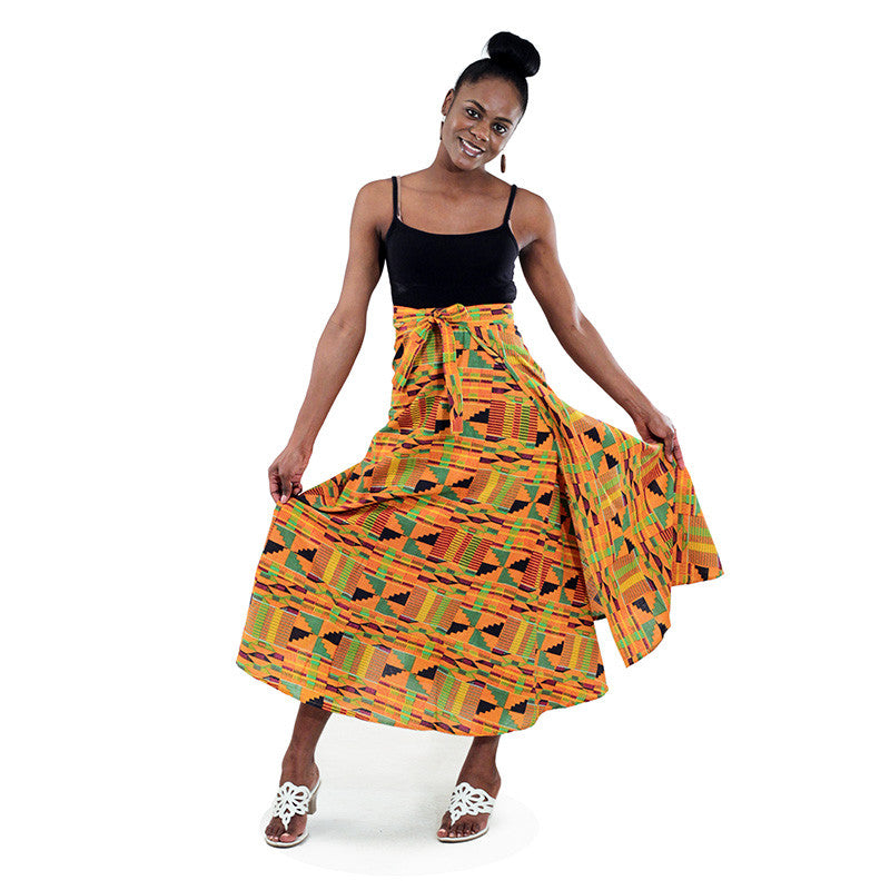 Kente Wrap Skirt for $0.29 at THOKO PLACE