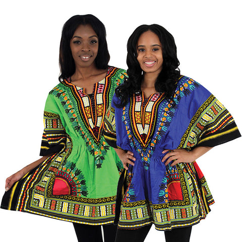 Traditional Elastic Dashiki