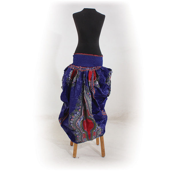 Traditional Print Bubble Skirt
