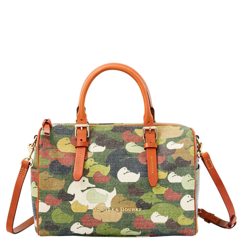 Dooney & Bourke Camouflage Duck Olivia Green for $1.20 at THOKO PLACE