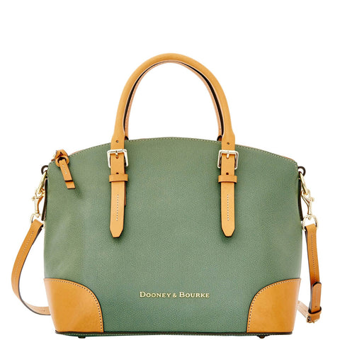 Dooney & Bourke Claremont Domed Satchel for $2.26 at THOKO PLACE
