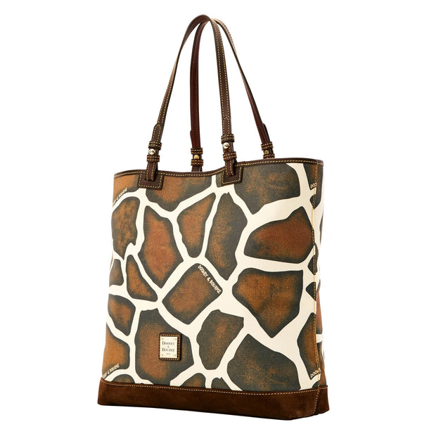 Dooney & Bourke Safari North South Lee Tote for $1.35 at THOKO PLACE