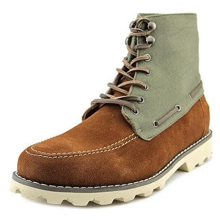 Suade Green Fashionable Boots for $0.39 at THOKO PLACE