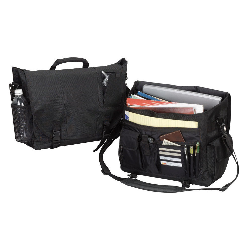 Goodhope Black Flapover 15-inch Laptop Messenger Bag for $0.50 at THOKO PLACE