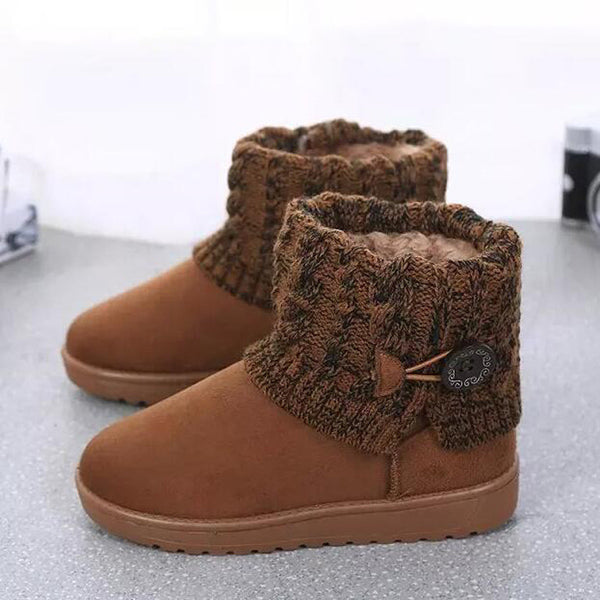 Knitting Winter Snow Boots for $0.33 at THOKO PLACE