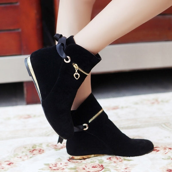 Fashion Bowtie Ankle Boots for $0.39 at THOKO PLACE