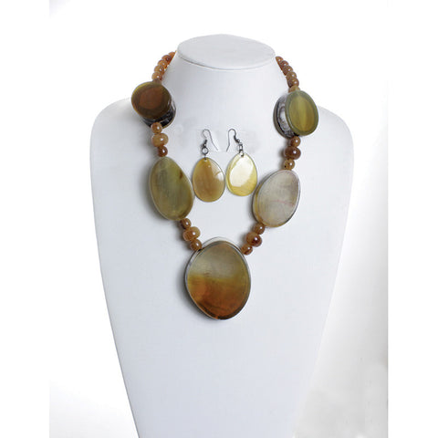 Earth Goddess Necklace Set for $0.19 at THOKO PLACE