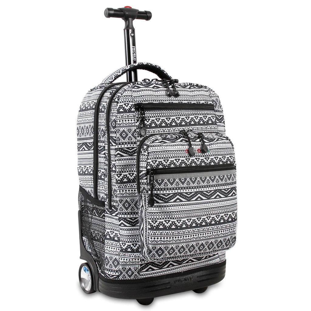 Tribal Rolling 15-inch Laptop Backpack for $0.79 at THOKO PLACE