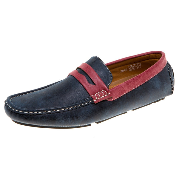 Quentin Ashford Men's Slip-On Loafers for $0.59 at THOKO PLACE