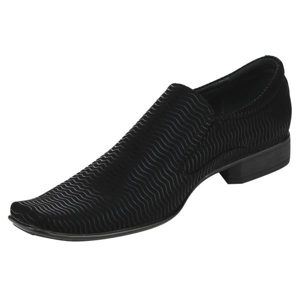 Black Slip-on Formal Dress Loafers for $0.49 at THOKO PLACE