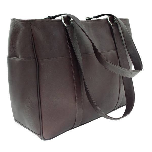 Piel Leather Medium Shopping Bag for $2.10 at THOKO PLACE