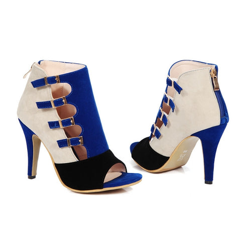 Fashion Zip High Heel for $0.49 at THOKO PLACE