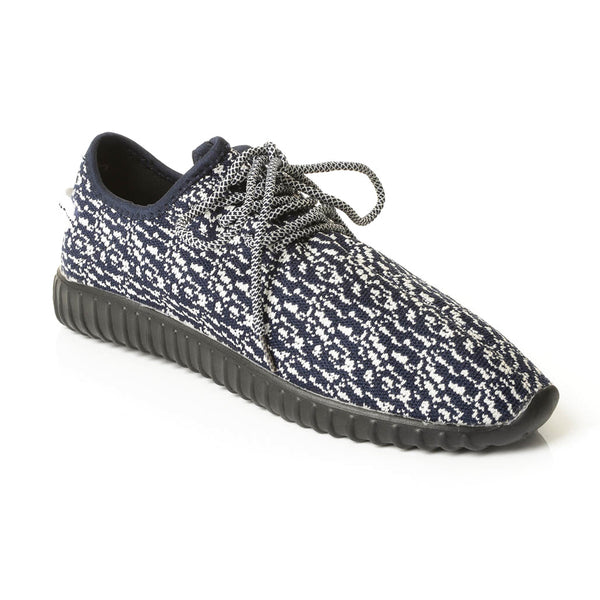 Solo Men's Marled Knit Mesh Lace Up Athletic Shoe for $0.59 at THOKO PLACE
