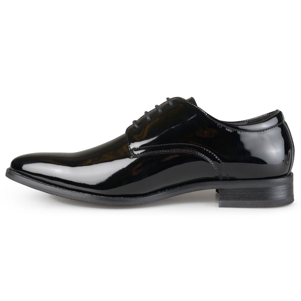 Men's Faux Leather Lace-up Dress Shoes for $0.89 at THOKO PLACE