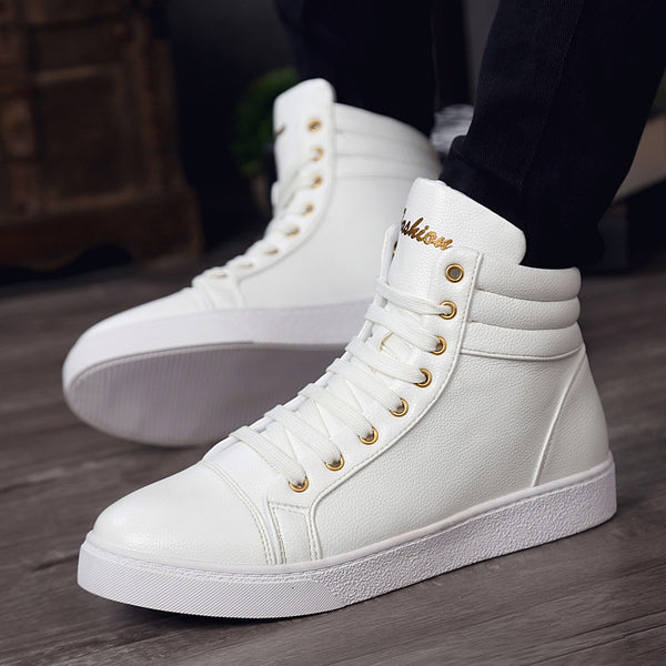 High-Vamp European Style Fashio Hightops for $0.59 at THOKO PLACE
