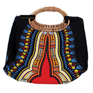 Traditional Wicker Handle Bag: (C-A617) for $0.43 at THOKO PLACE