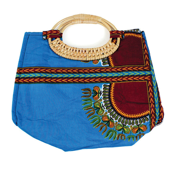 Traditional Wicker Handle Bag: (C-A617) for $0.44 at THOKO PLACE