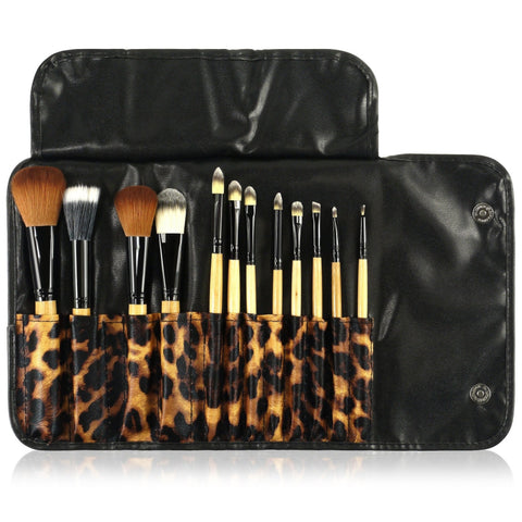 12 pcs Makeup Brushes Kit Set for $0.23 at THOKO PLACE