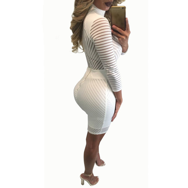Sexy Bandage Bodycon Party Dress