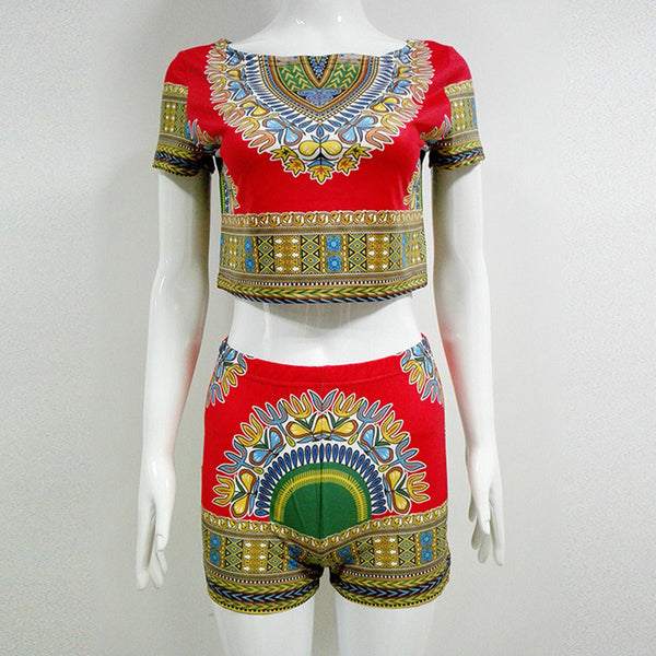 Two Piece Dashiki Outfit