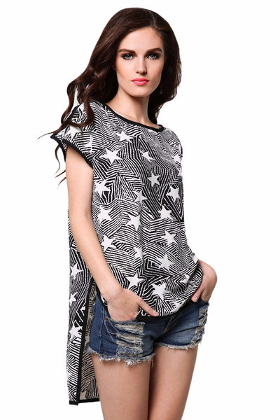 Ladies Casual Women Loose T-shirt