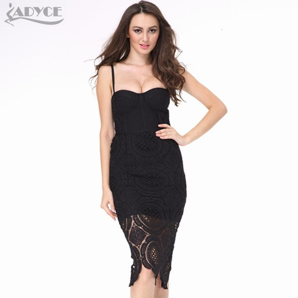 Runway Spring Bodycon Bandage Dress for $0.39 at THOKO PLACE