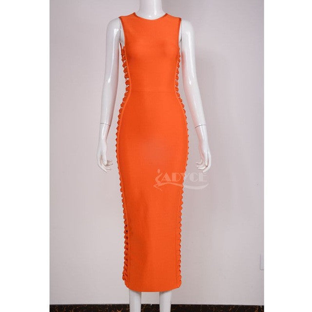 Spring Dress Women Runway Bodycon Dress for $0.40 at THOKO PLACE