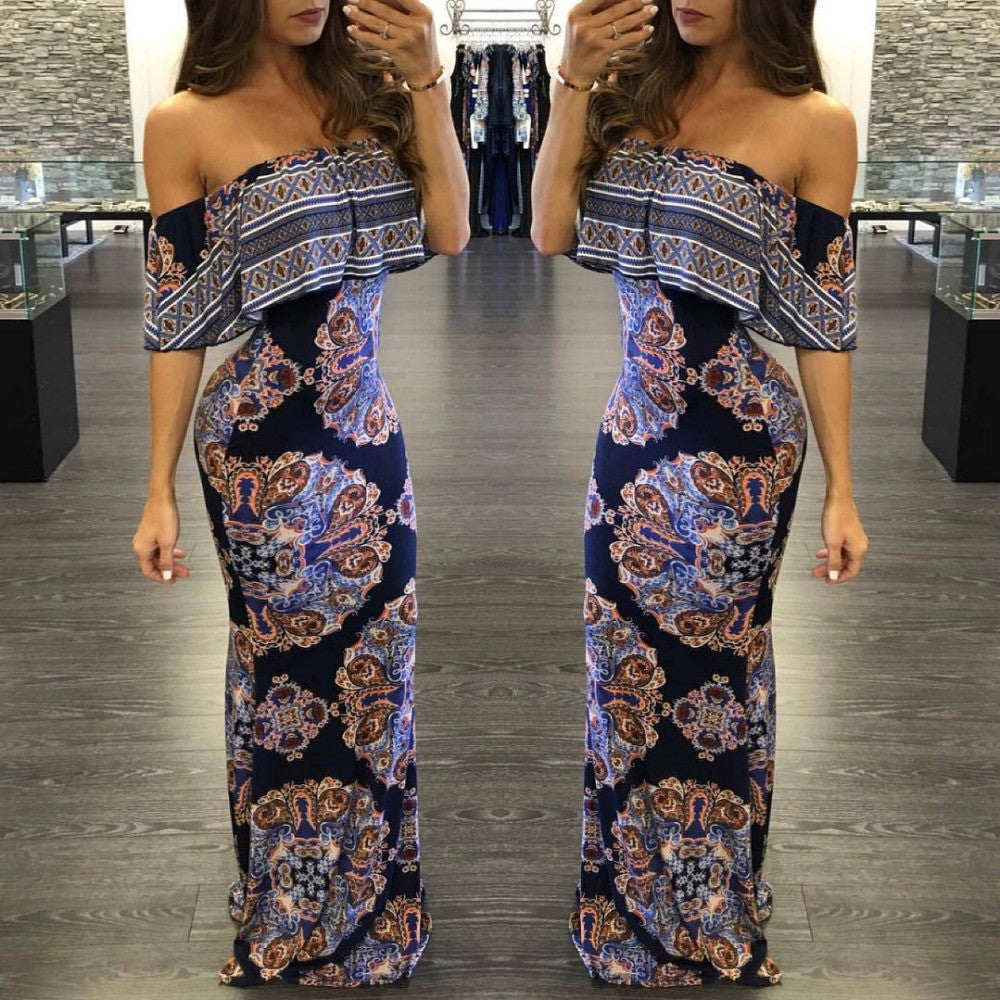 Sexy New FASHION Off Shoulder Dress for $0.30 at THOKO PLACE
