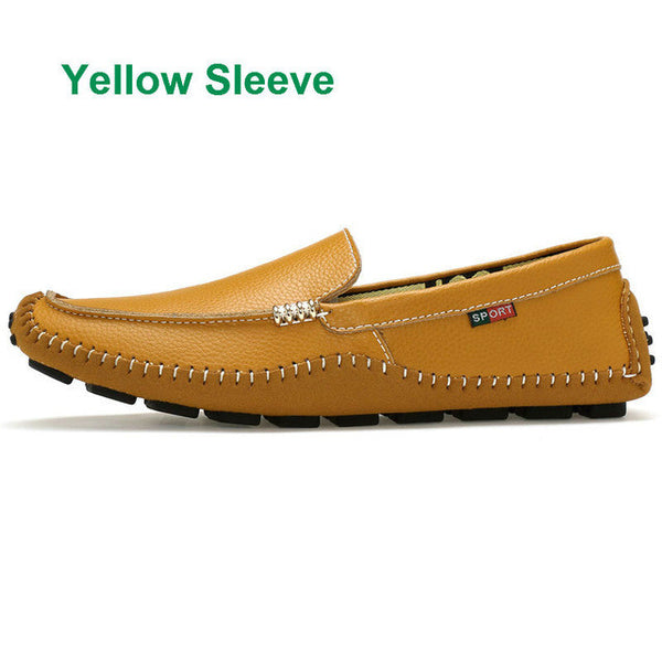 Soft Leather Moccasins