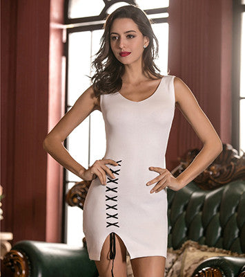New Spring Summer Autumn Knitted Bodycon Dress for $0.26 at THOKO PLACE