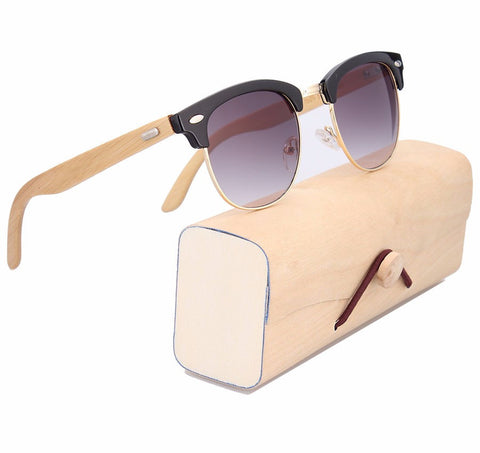 Retro Wooden Sunglasses for $0.20 at THOKO PLACE