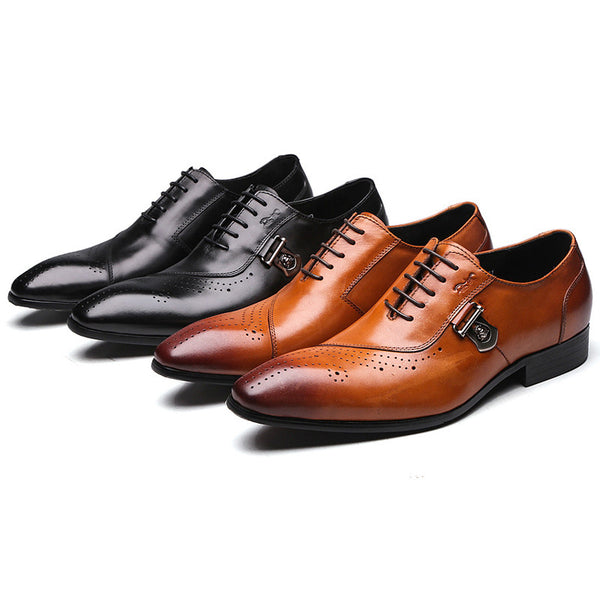 Italian Designer Genuine Leather Shoes