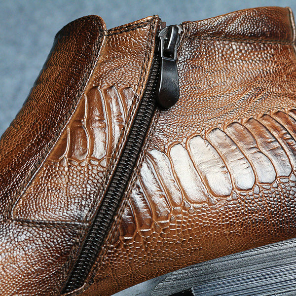 Retro Leather Martin Boots