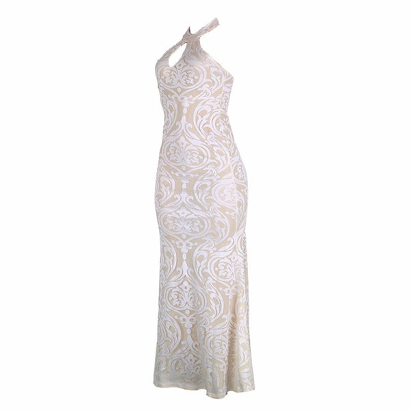 Sexy Backless Off Shoulder Lace  Vintage Party Dress for $0.29 at THOKO PLACE