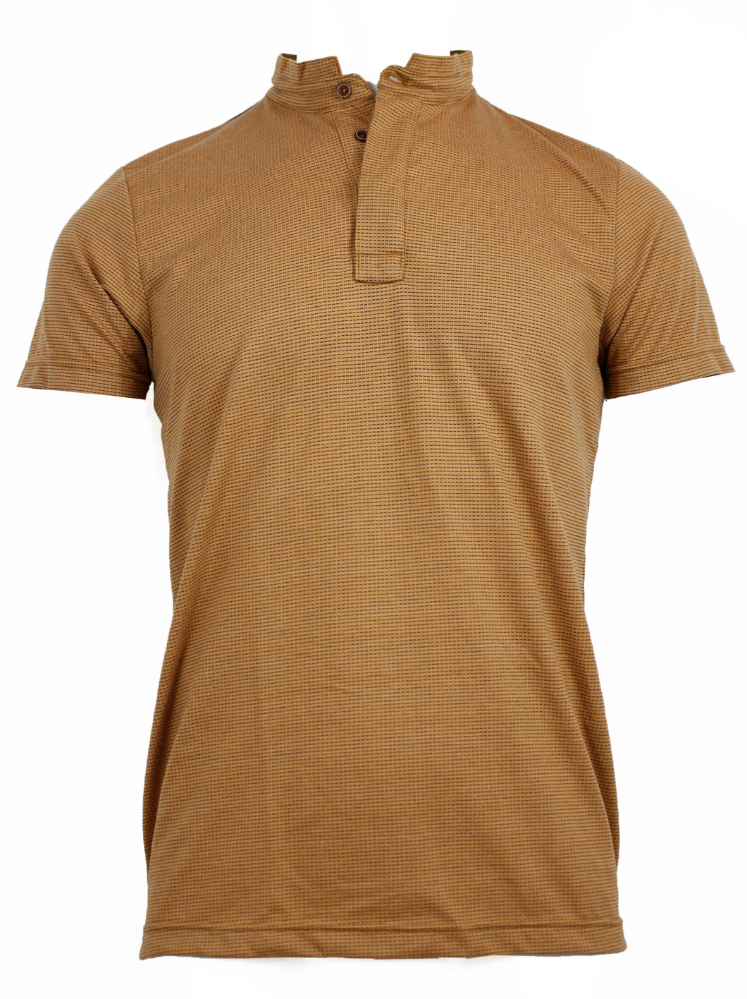 Playera Polo Mostaza