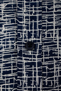 Camisa Navy Burned