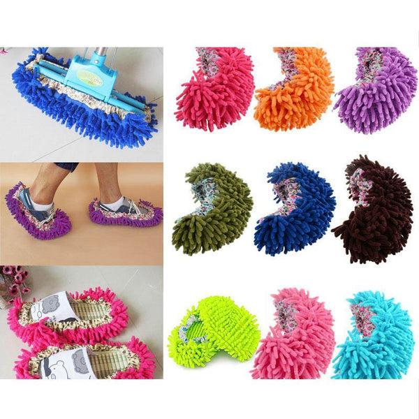 House Floor Mop & Anti Slip Cleaning  Slippers