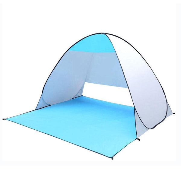 2017 Quick Automatic Opening Beach Tent UV-protection Camping Sun Shelter