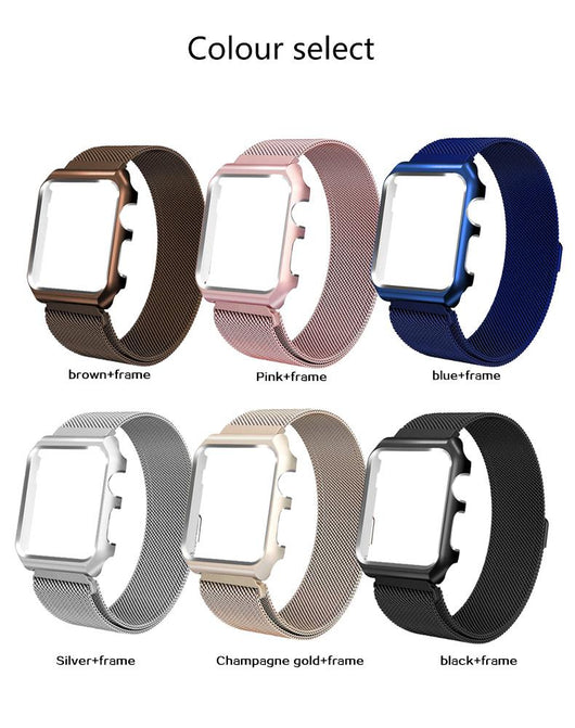 iWatch Protection Case and Mesh Strap